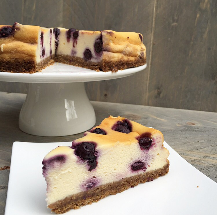 Blueberry cheesecake puntje