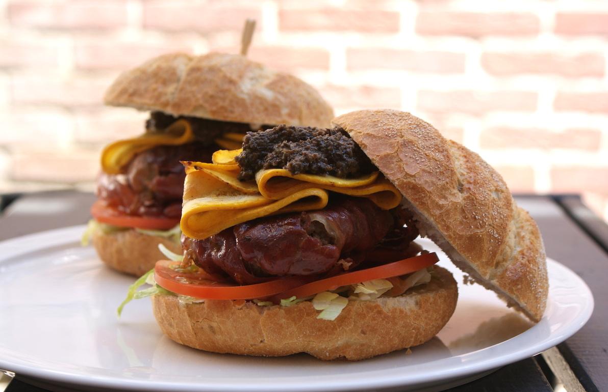 Serranoham hamburgers EEFSFOOD