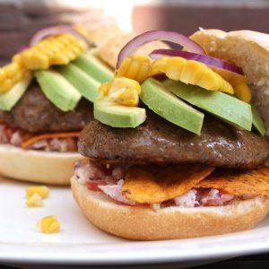 Mexicaanse burger EEFSFOOD