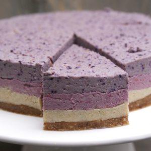 Fruitige cheesecake op notenbasis EEFSFOOD