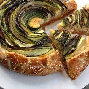 Vegetarische groentetaart EEFSFOOD