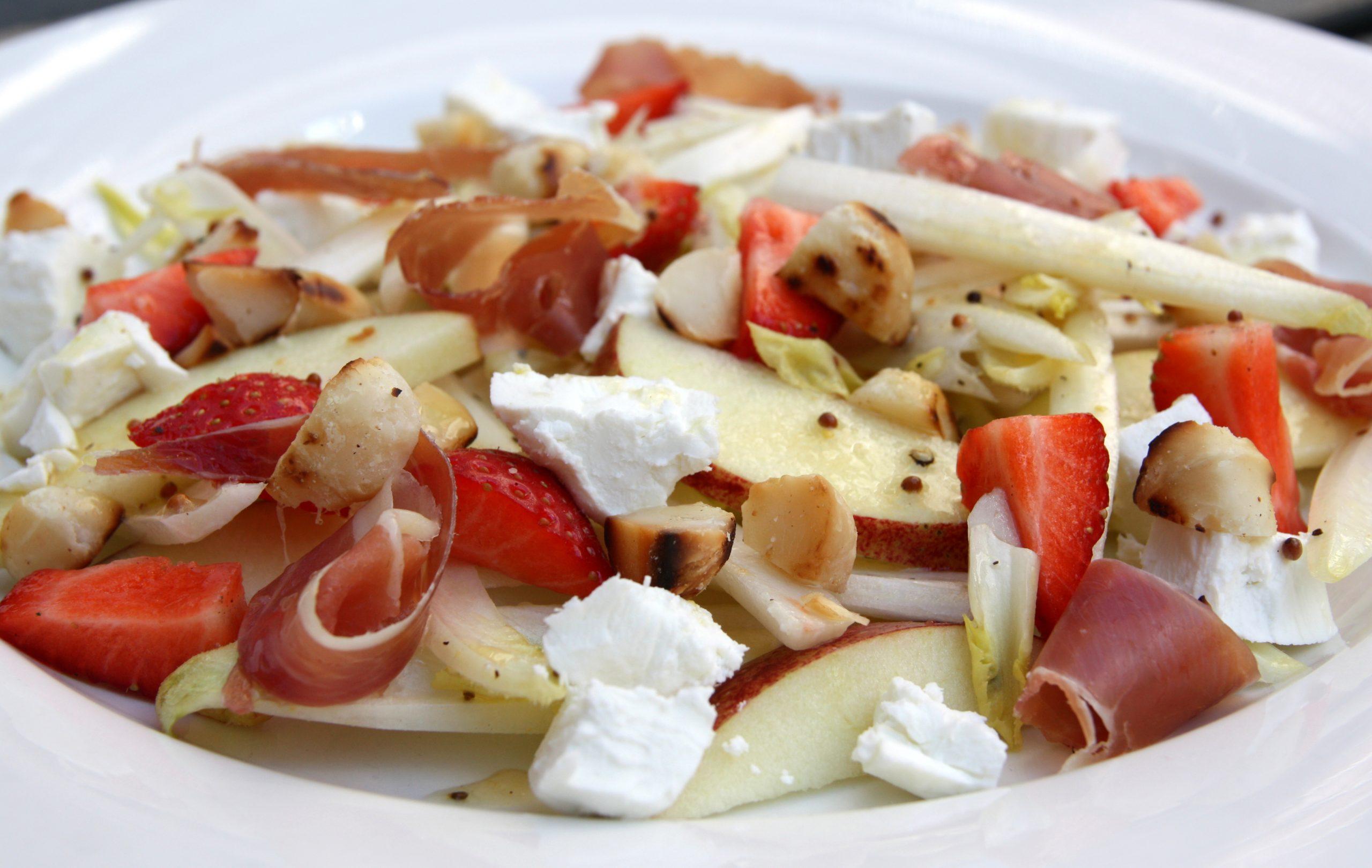 Salade van witlof en appel EEFSFOOD