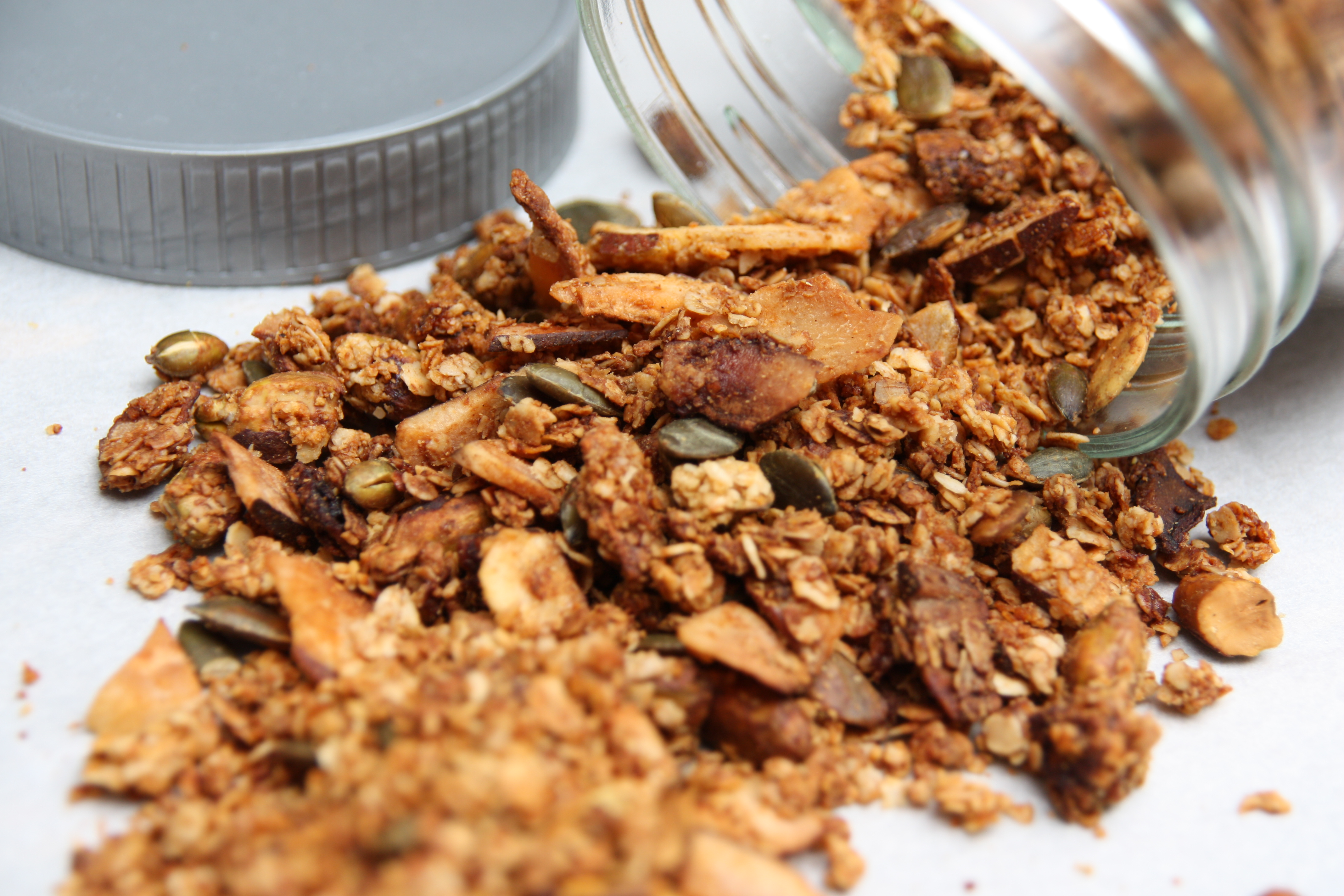 Pistache granola met kokos EEFSFOOD
