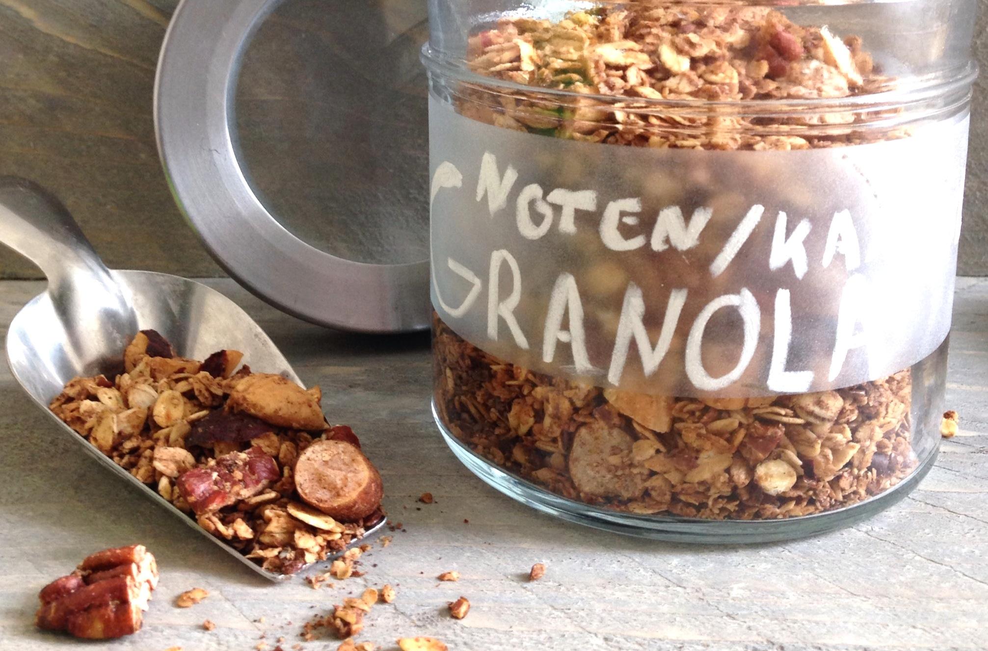 Noten-kaneel granola EEFSFOOD