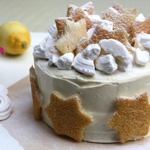 Vanille citroen meringue taart EEFSFOOD