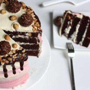 Triple chocolate hazelnut cake EEFSFOOD