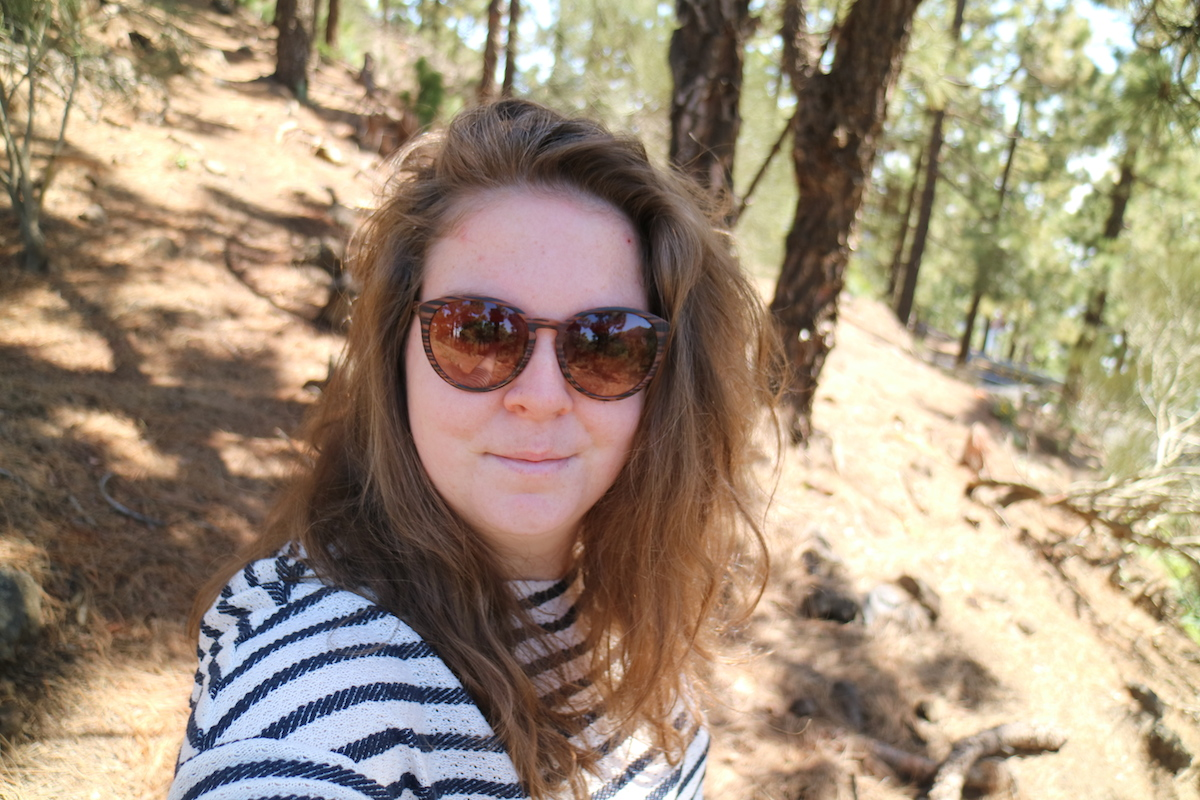 Selfie in de bergen EEFSFOOD