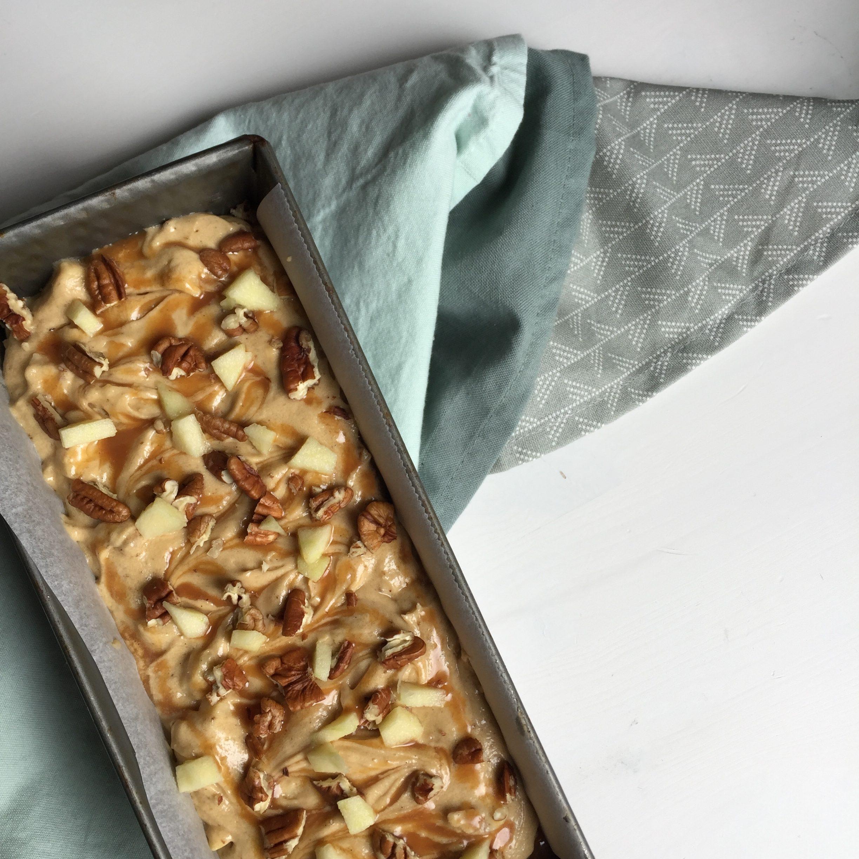 Sticky appel cake ongebakken EEFSFOOD