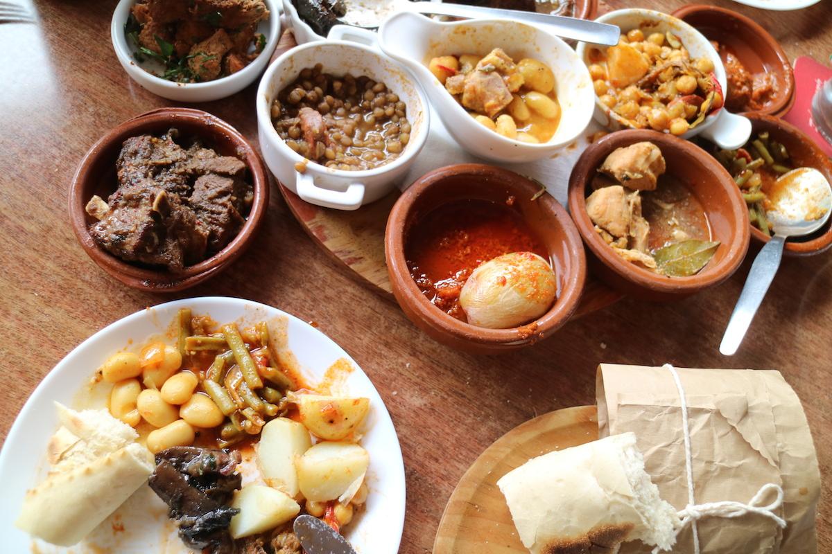Bar El Camino eenmaal aan het eten EEFSFOOD