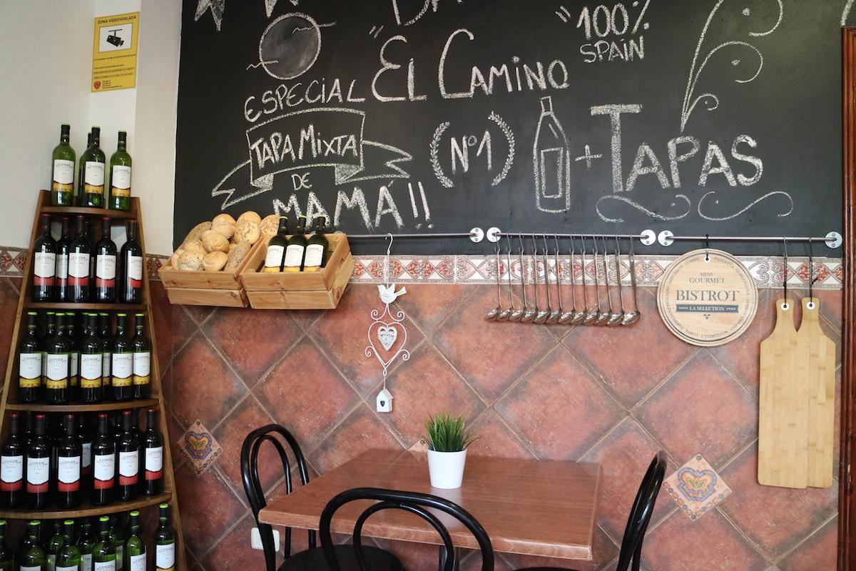 Bar El Camino zithoek EEFSFOOD