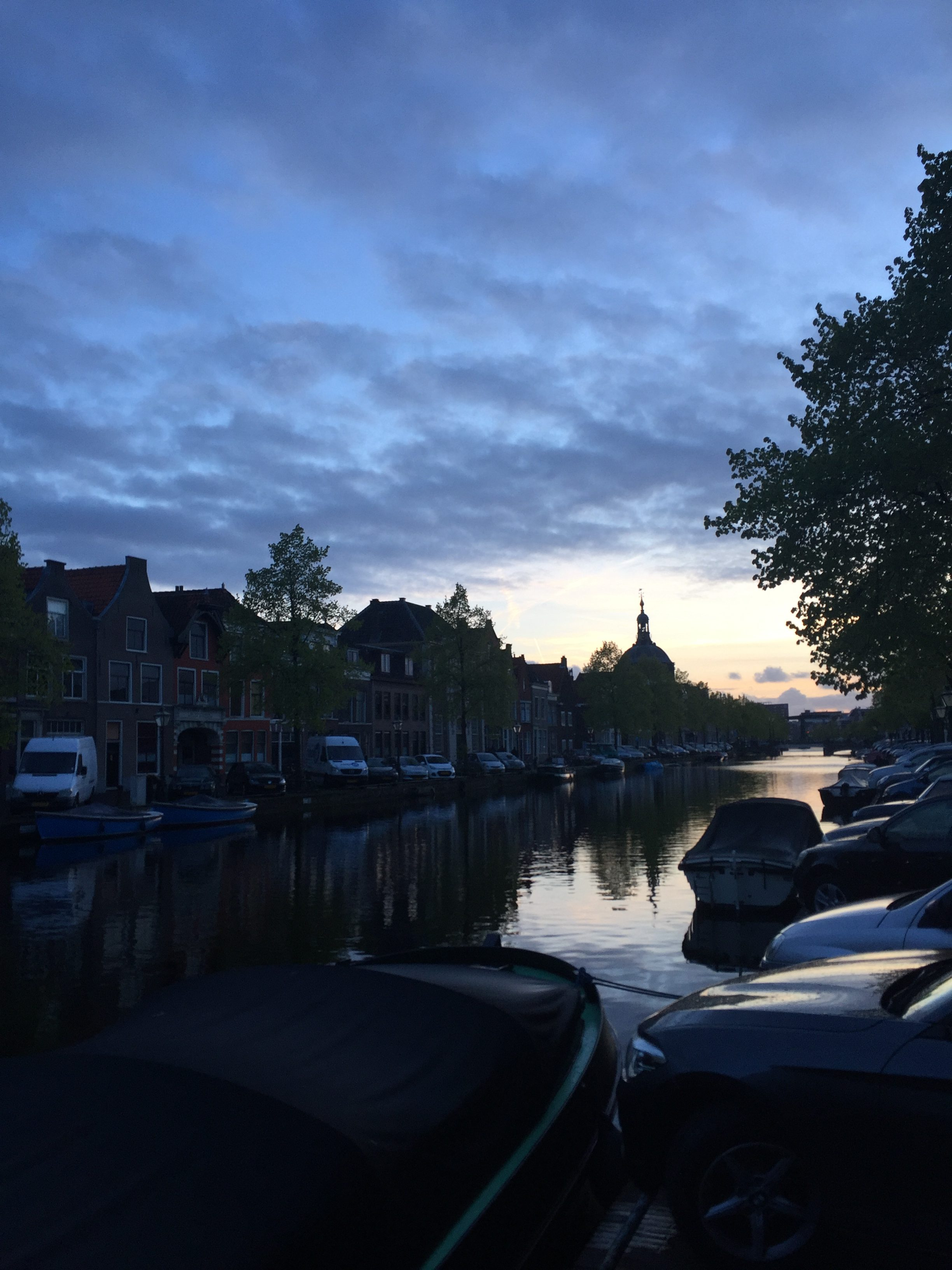 Oude singel sunset