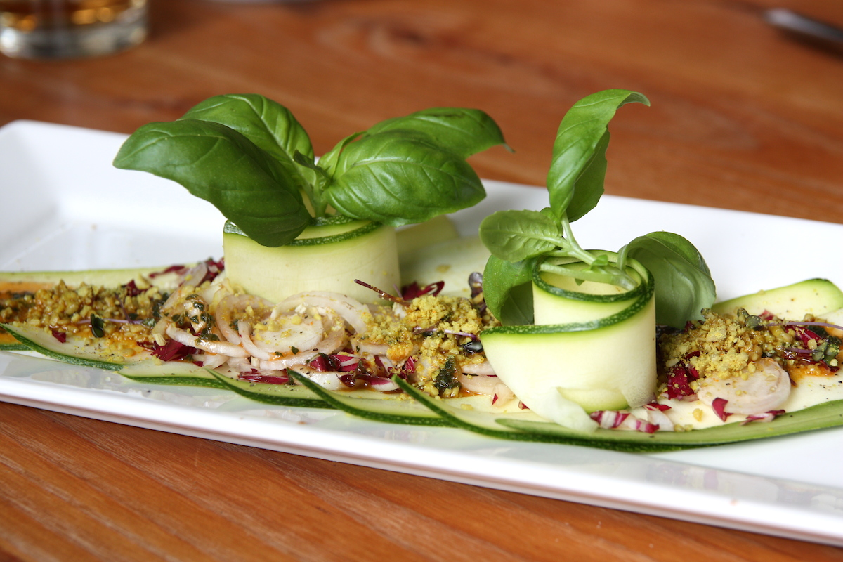Courgette carpaccio Gys EEFSFOOD