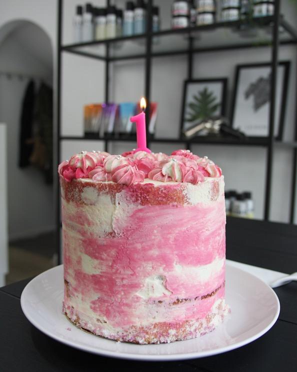 LOD 1 jaar taart