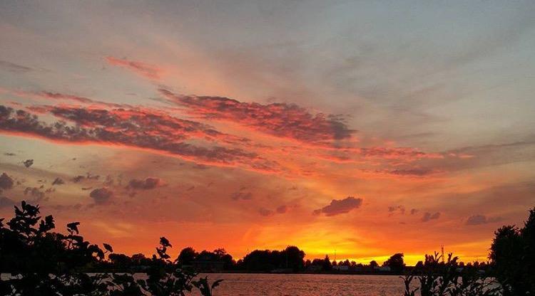 Sunset eiland EEFSFOOD