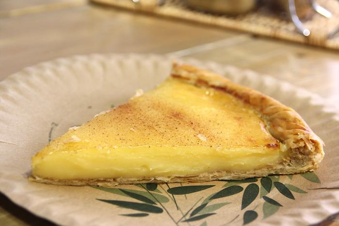 Creme brûlée taart deli pie EEFSFOOD