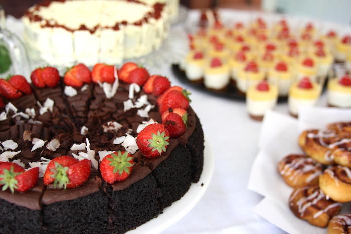 glutenvrije chocoladetaart EEFSFOOD