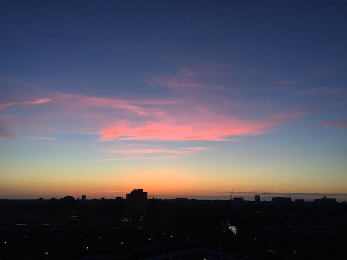 Sunset 4 juni EEFSFOOD