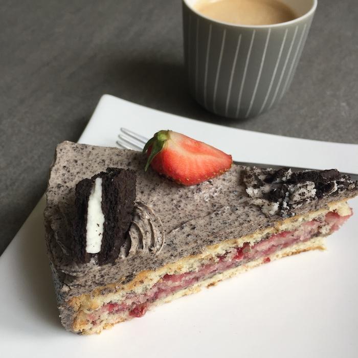 Oreo taart met koffie EEFSFOOD