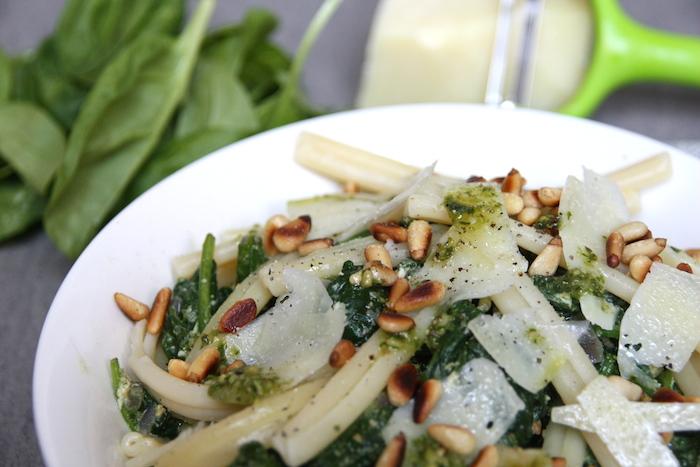Spanizie pasta close up EEFSFOOD