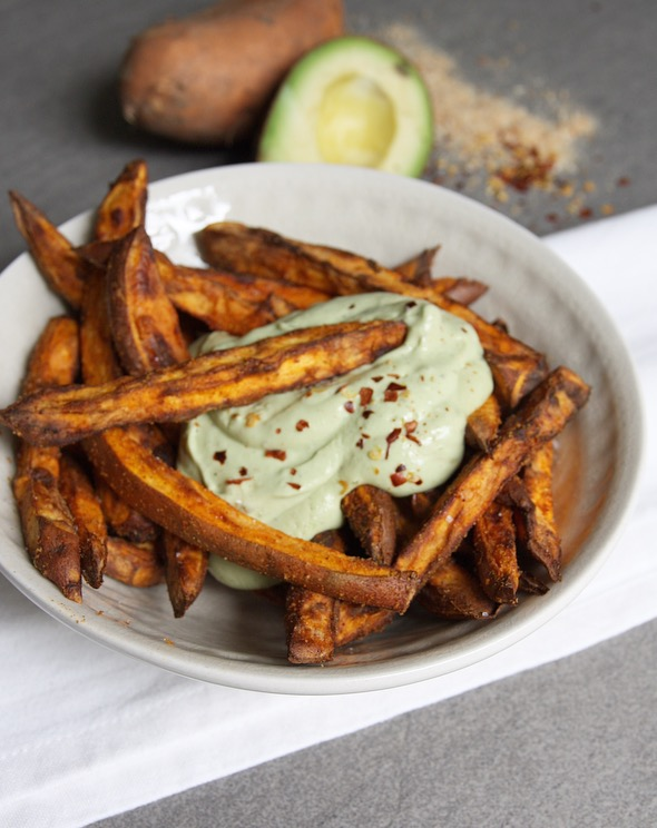 Zoete aardappel friet EEFSFOOD