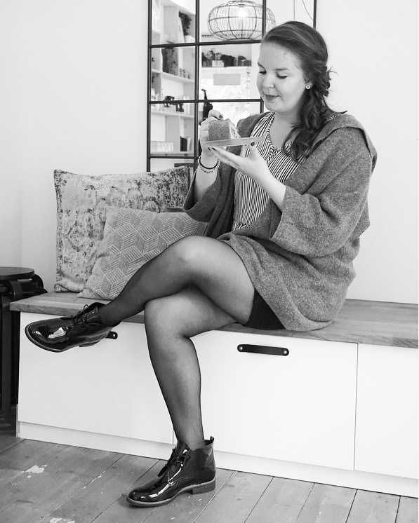 Koffieduss taartje EEFSFOOD