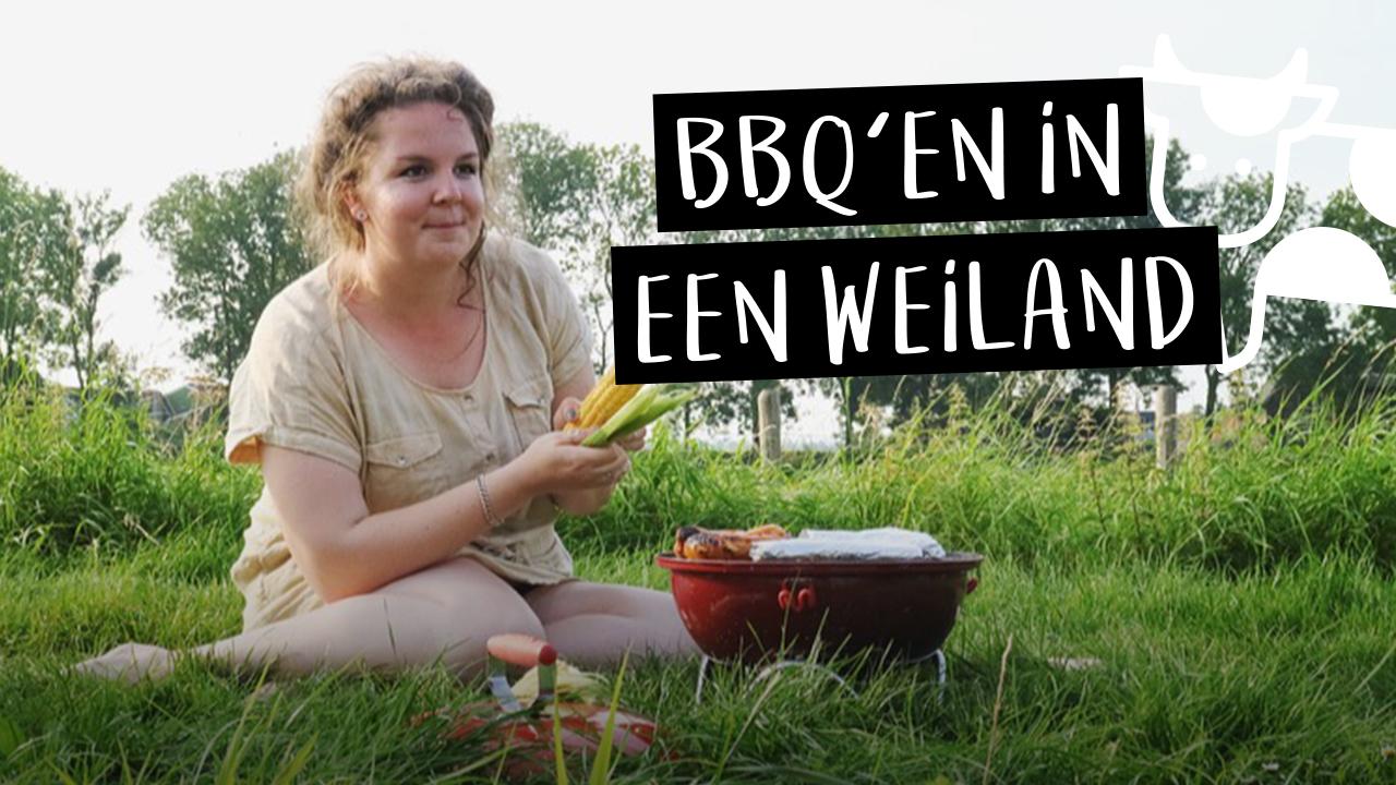 Vlog #7 || Bbq'en in een weiland