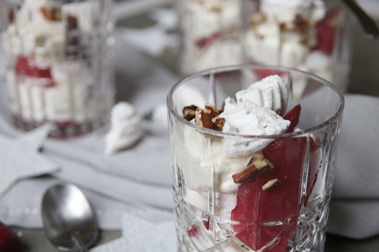 Eton mess close up