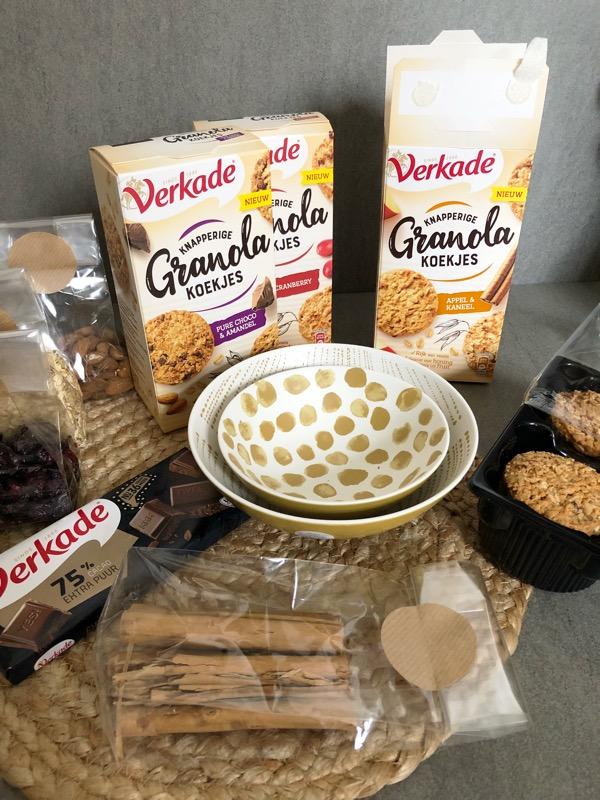 Verkade koekjes granola