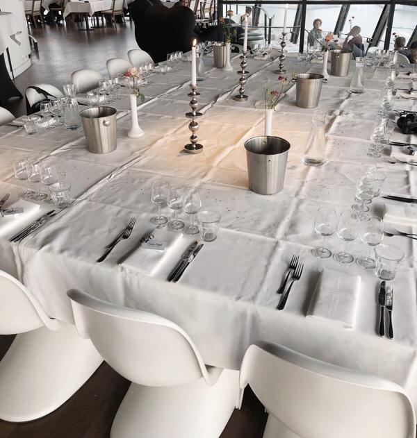 Gedekte tafel Euromast