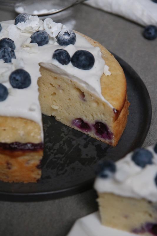 Griekse yoghurt cake