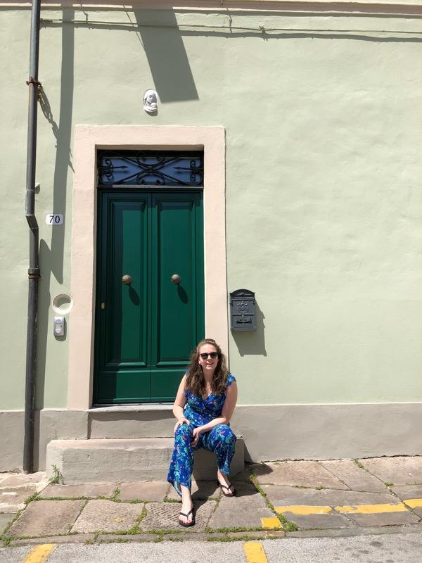 Groen huisje Lucca