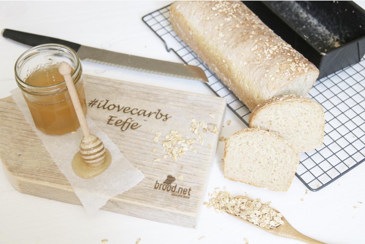 Honing is ook suiker en van brood word je niet dik! #ilovecarbs