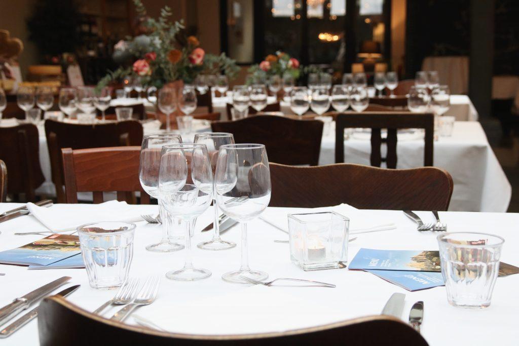 Gedekte tafel Zuid-Tirol workshop