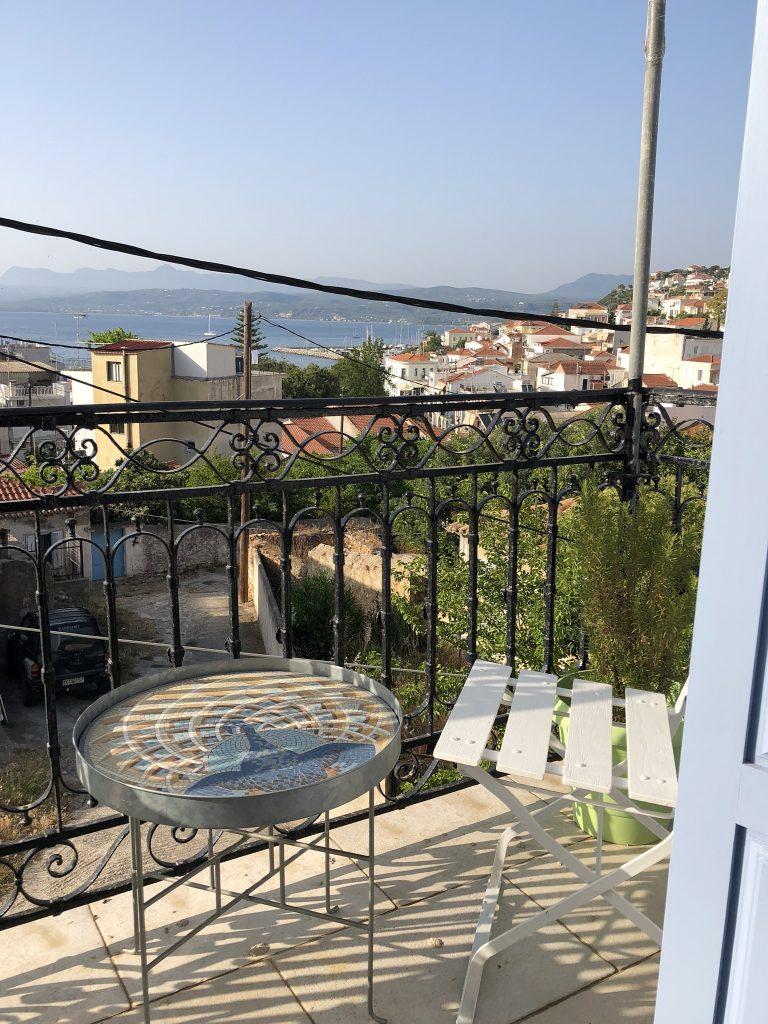 Balkon view Pylos