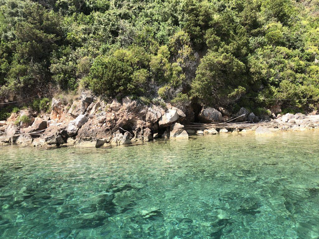 Griekse kust boottocht