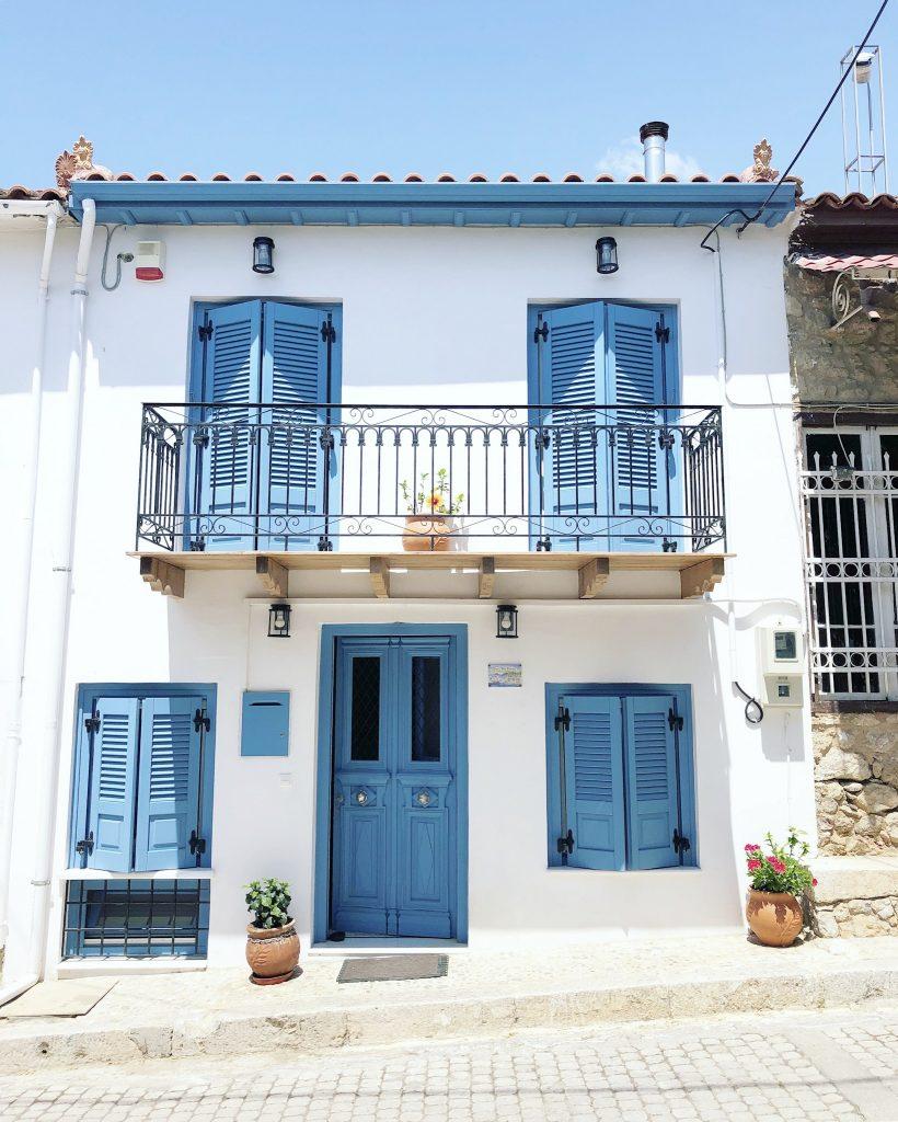 Grieks huisje Galaxidi