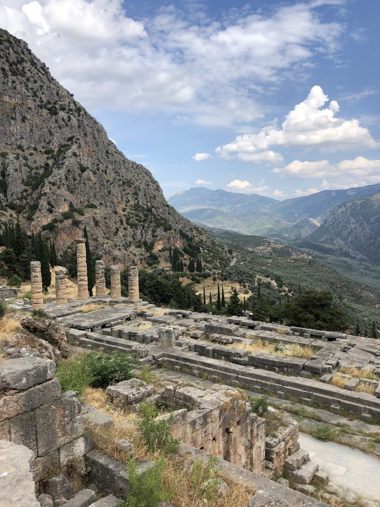 Tempel Apollo Delphi