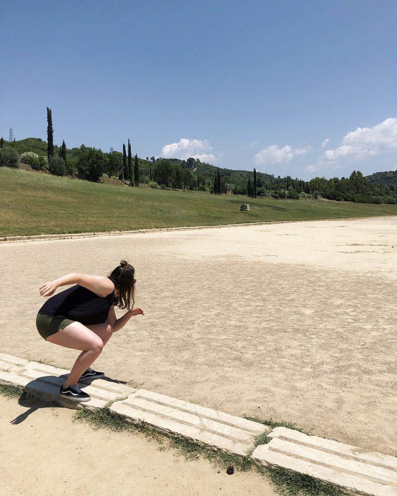 Olympische baan Olympia