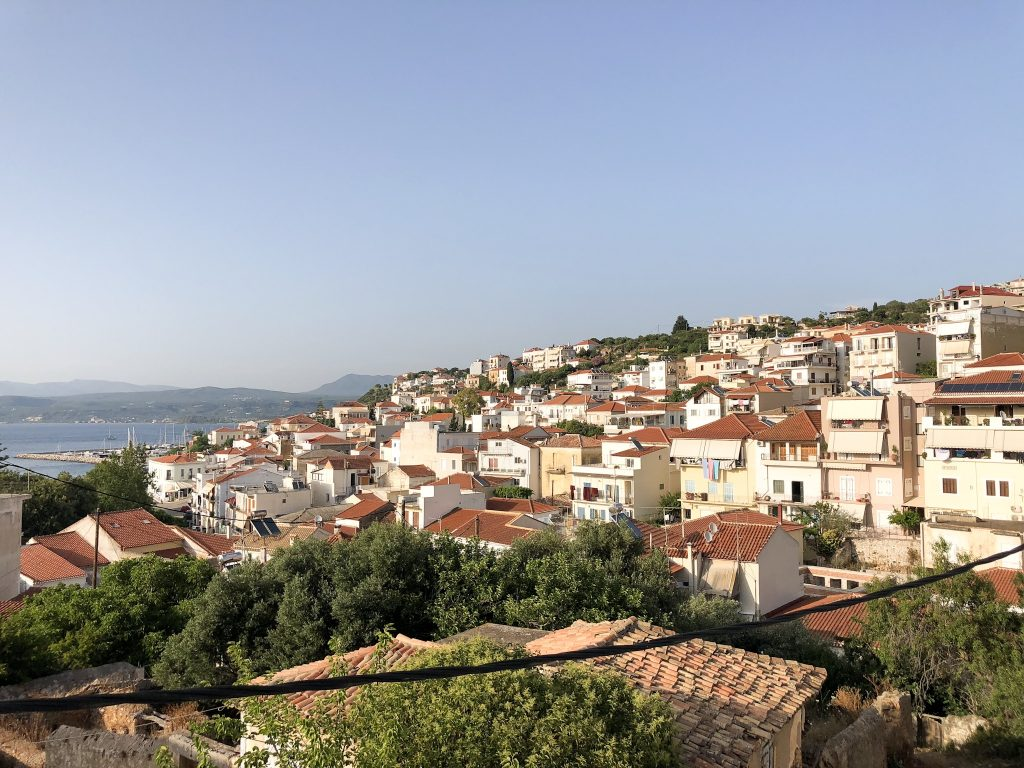 Pylos balkon view