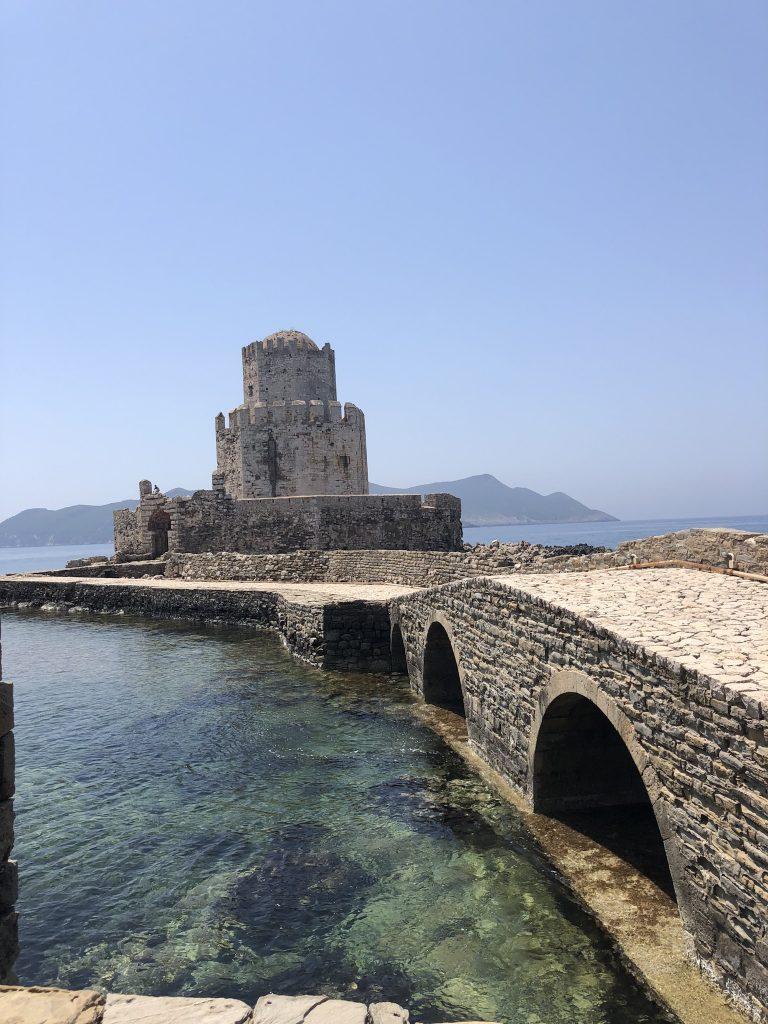 Ruine kasteel Methoni