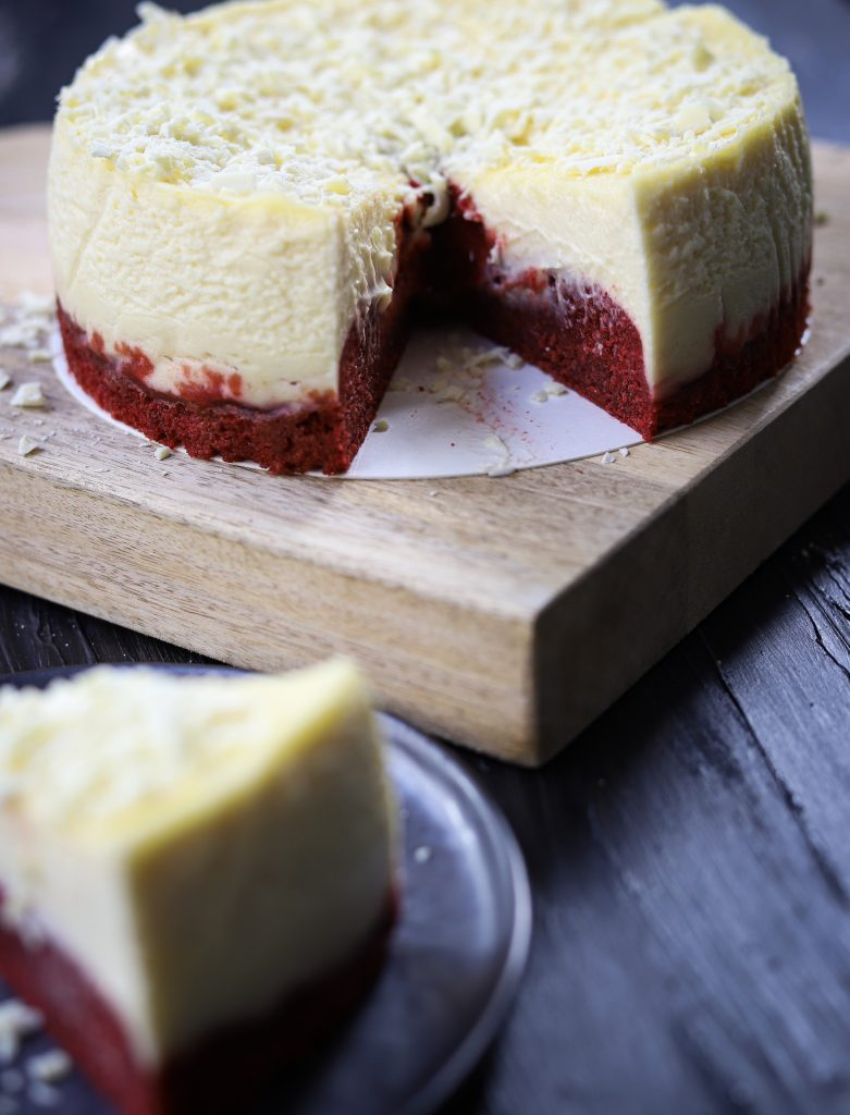 red velvet cheesecake verti