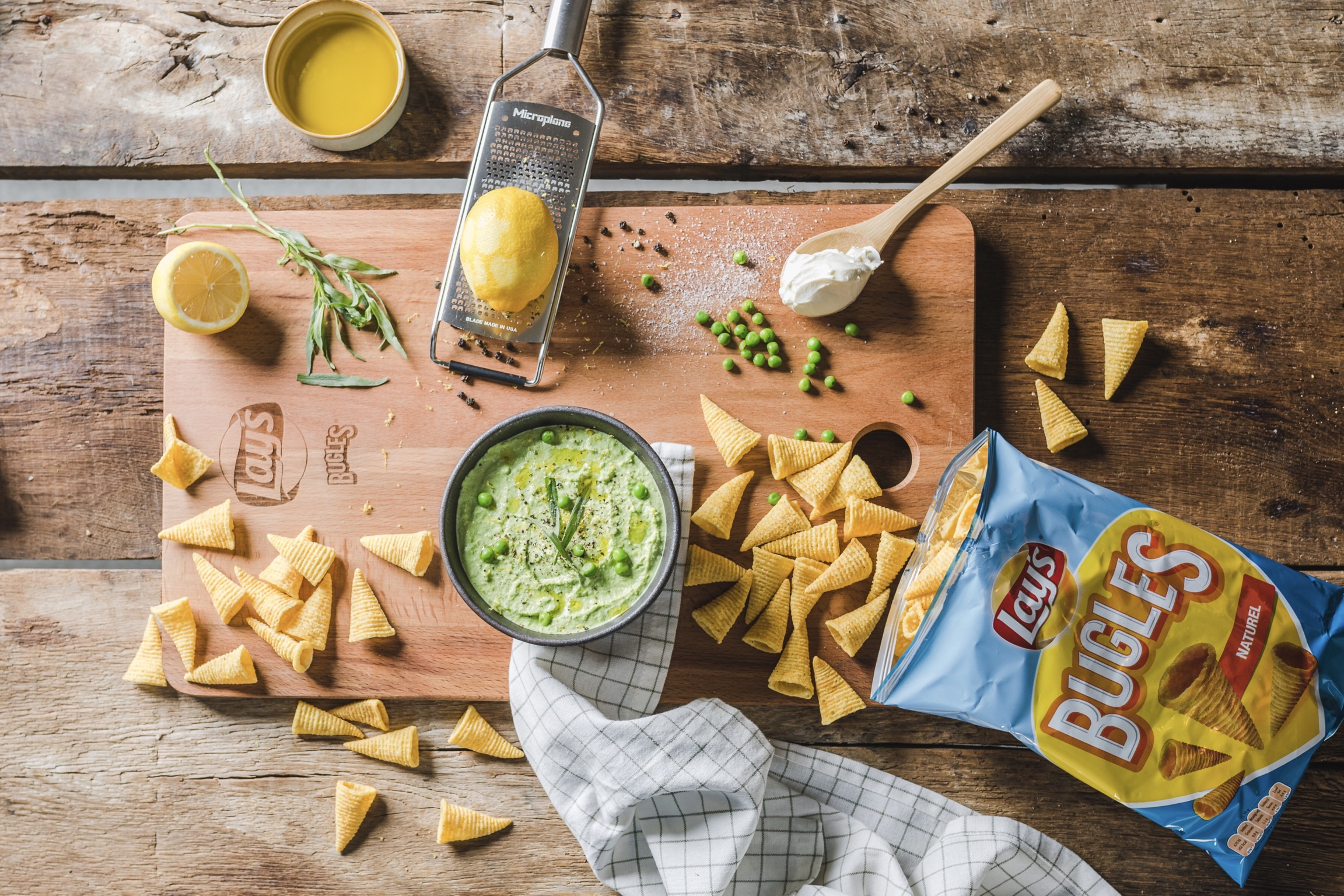 Lekkere dip tips voor Bugles + 2 recepten