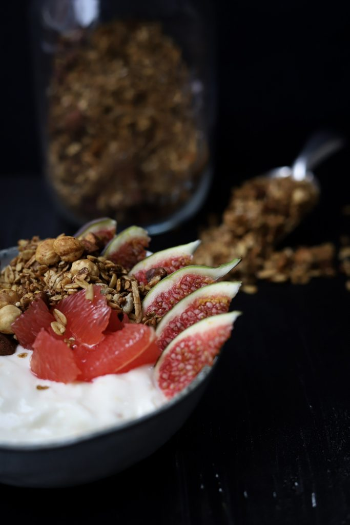Ontbijt foto vers fruit