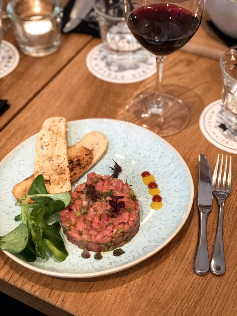 Steak tartare Jeanpagne
