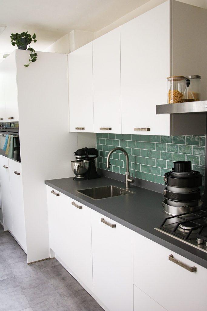 Springvormen in keuken