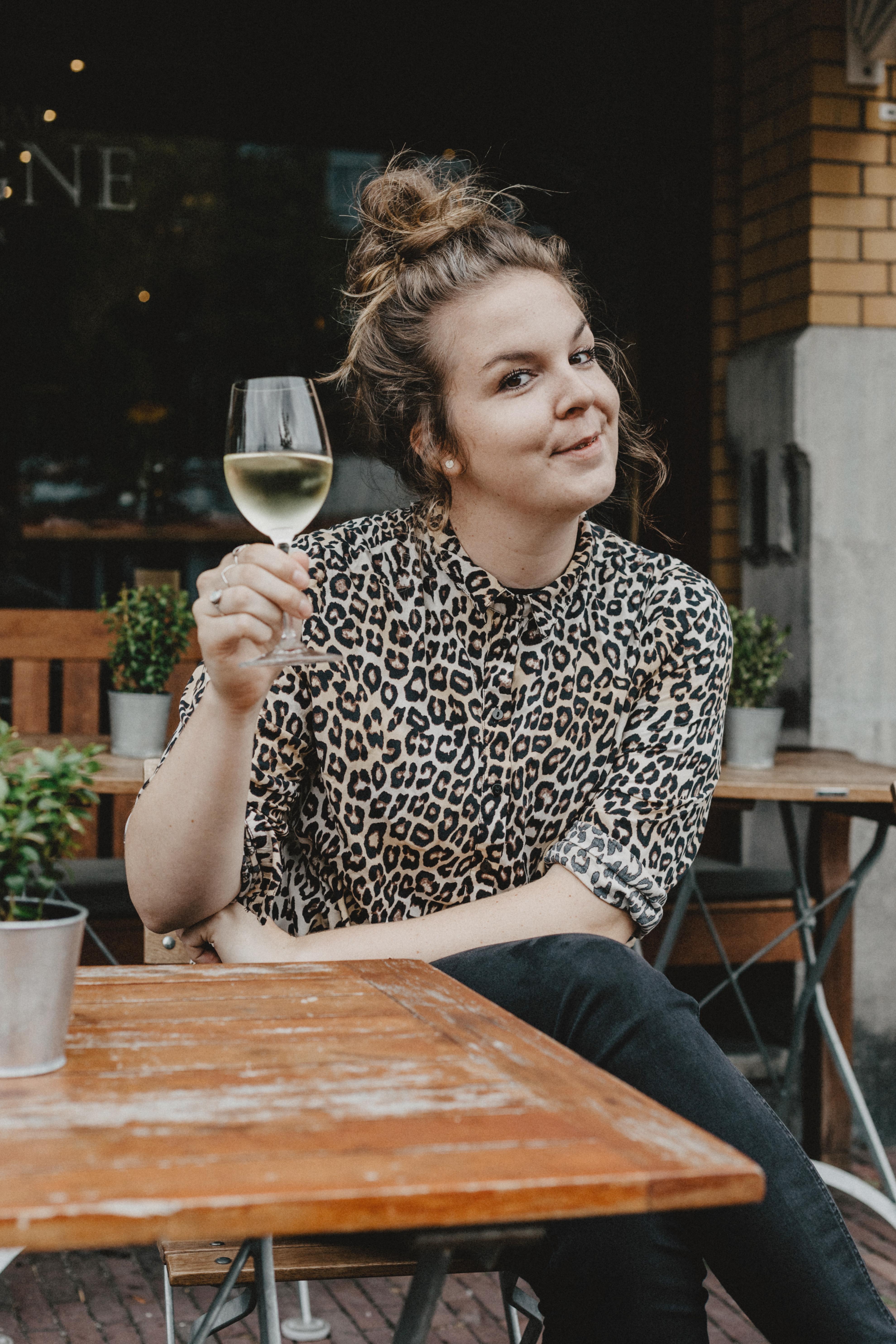 Wijntje op een terras