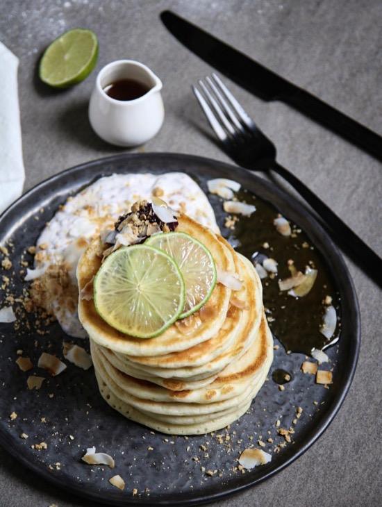 Limoen pancakes