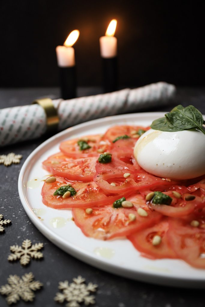 Carpaccio close up