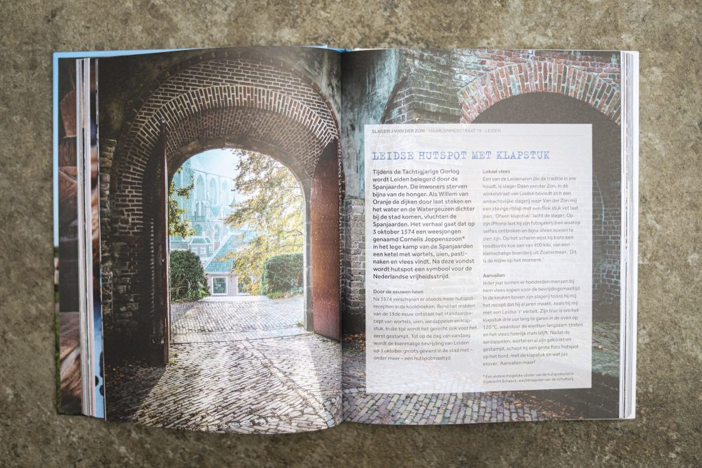 Nederland kookboek Leiden