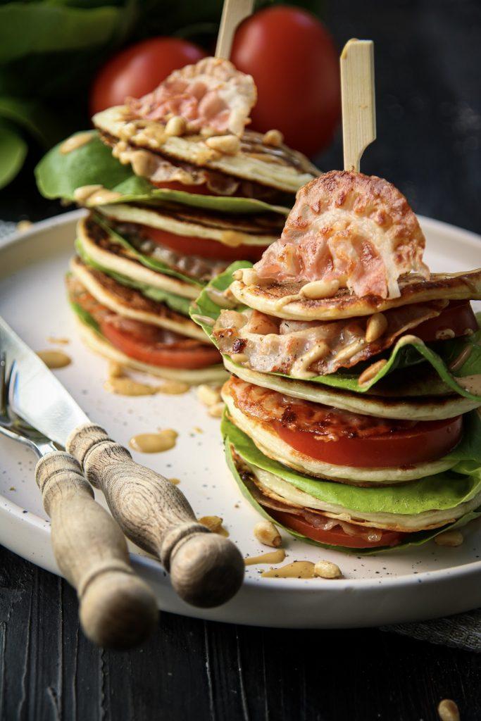 BLT pancakes